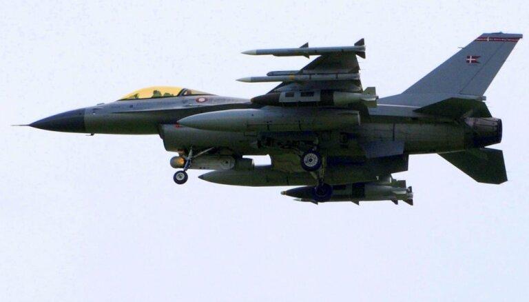 Бельгийские истребители сопроводили над Балтийским морем российские самолеты