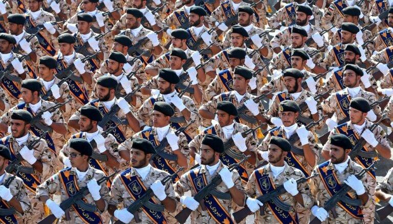 Laikraksts: ASV pasludinās Irānas Revolucionāro gvardi par teroristisku organizāciju