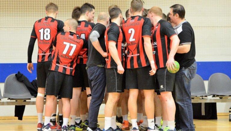 'Celtnieka' handbolisti izcīna trešo vietu pārbaudes turnīrā Igaunijā