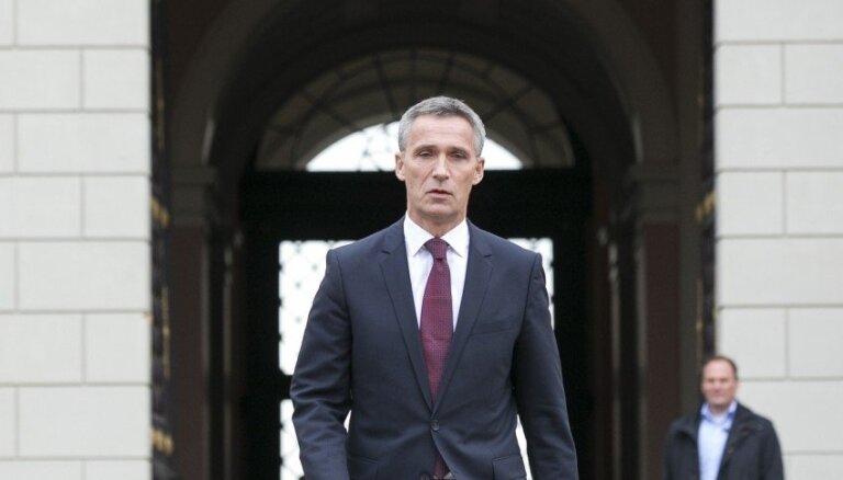 Страуюма: Латвия очень благодарна НАТО