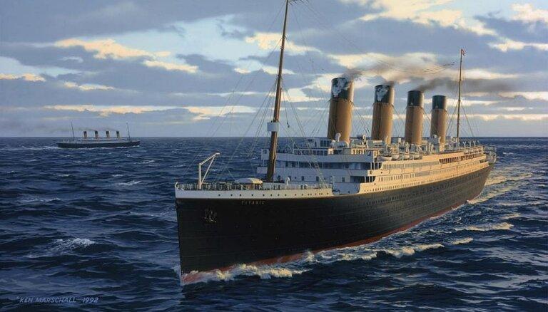 """В Риге откроется крупнейшая в мире выставка, посвященная """"Титанику"""""""
