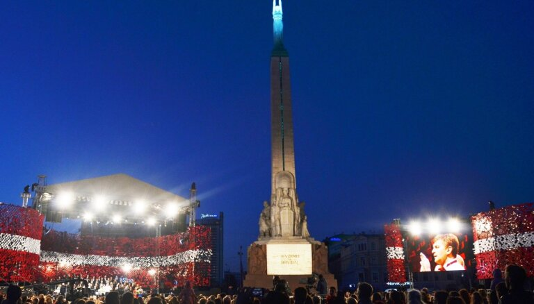 4. maijā Brīvības laukumā notiks koncerts 'Dziesmotā rezolūcija'