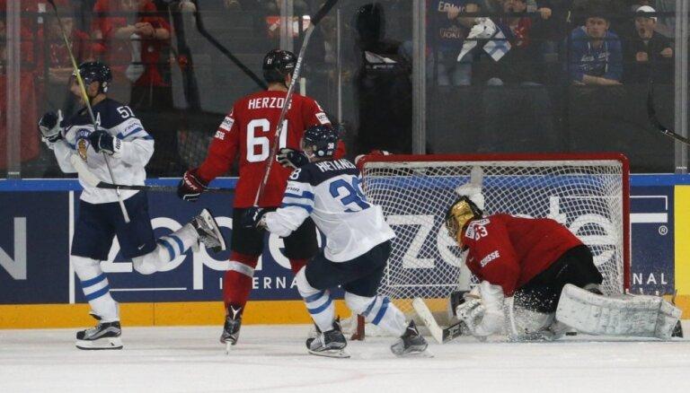 Video: Filpula pagarinājumā izglābj Somiju svarīgā mačā pret Šveici