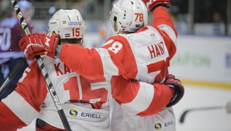 Maskavas 'Spartak' bez diskvalificētā Daugaviņa uzvar 'Kuņluņ Red Star'