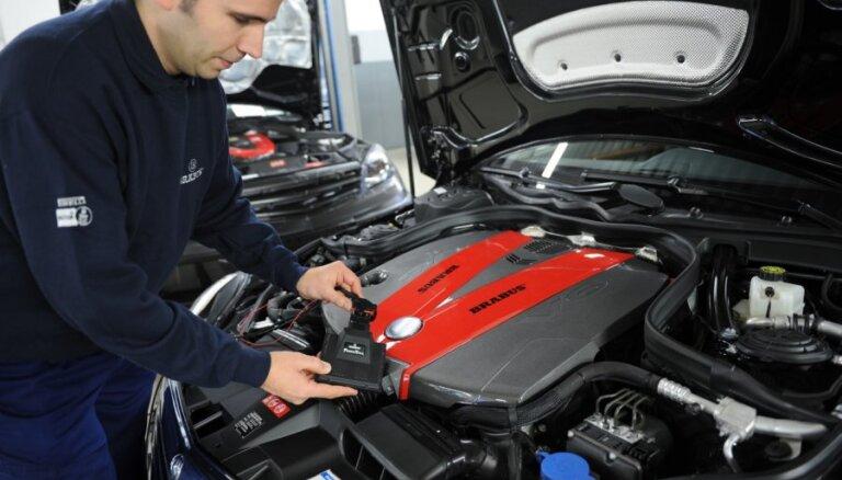 Pārbaudot tūkstoš automobiļu, trešdaļai automašīnu problēmas ar drošības sistēmām