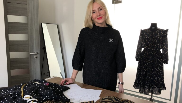 Kristīna Hudina: nekāda pandēmija neatcels sievišķīgo 'gribu jaunu kleitu'