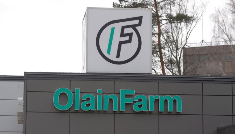 'Olainfarm' koncerns patlaban neplāno iegādāties vēl kādus uzņēmumus