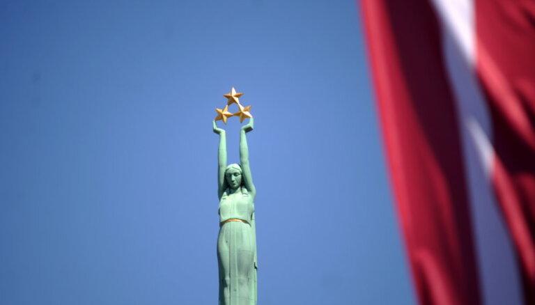 Svin Latvijas neatkarības atjaunošanas dienu