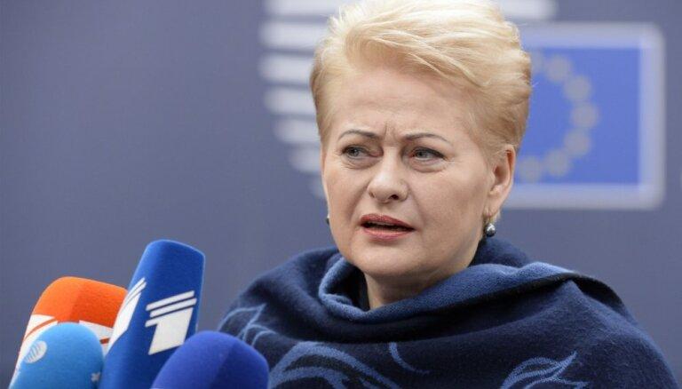 Человеком года жители Литвы выбрали президента— Далю Грибаускайте