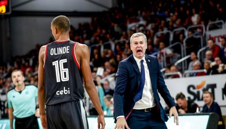 Bagatska pārstāvētā Vācijas komanda FIBA Čempionu līgā gūst trešo uzvaru pēc kārtas