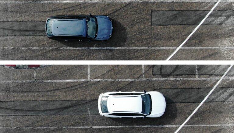 Video: Ziemeļu un Rietumeiropai paredzēto ziemas riepu bremzēšanas ceļa atšķirība uz asfalta