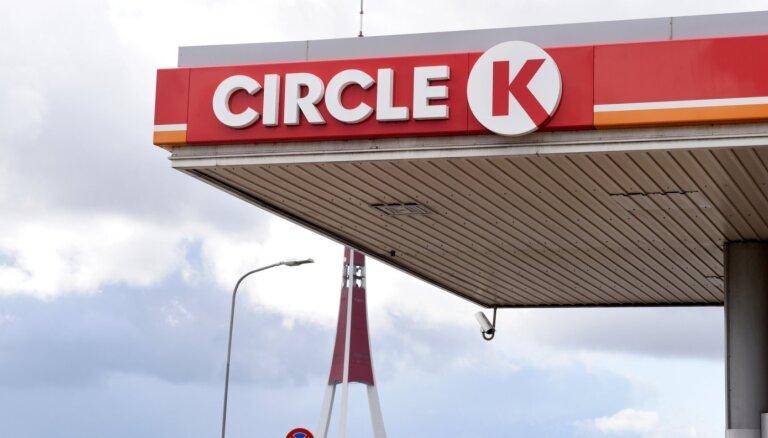 ВИДЕО. Ночью в Таллинне ограбили заправку Circle K: напали на сотрудника и забрали все деньги из кассы