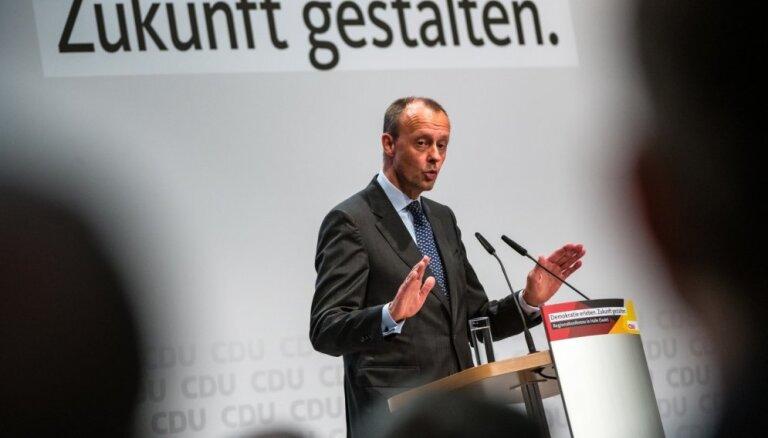 CDU līdera amata pretendents pārmet partijai vienaldzību pret eiroskeptiķu nostiprināšanos