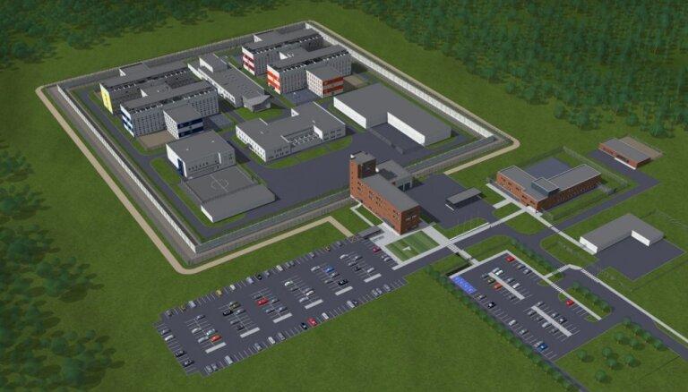 Новую тюрьму в Лиепае планируется открыть в 2019 году