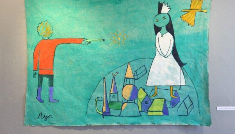 'Arsenālā' notiks mākslas darbnīca bērniem ar gleznotāju Aiju Zariņu
