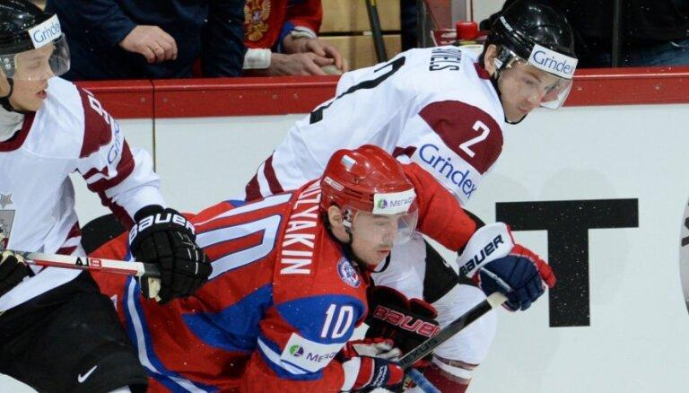 Krievijas izlasei PČ nepalīdzēs arī KHL Gagarina kausa fināla vērtīgākais spēlētājs