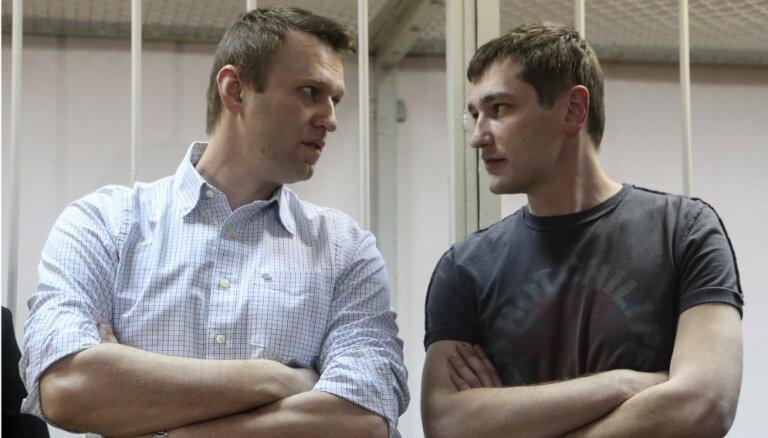 Младший брат Навального вышел на свободу после трех лет в колонии