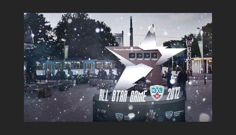Rīgā uzstādīs KHL Zvaigžņu spēles pulksteni