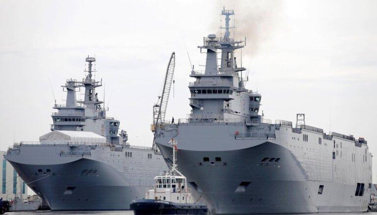 Министр обороны Польши утверждает, что Египет продал России два Mistral за $1