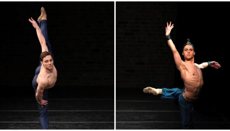 Latvijas Nacionālā baleta jaunais solists Germans Ševčenko ieguvis otro vietu prestižā konkursā Ņujorkā