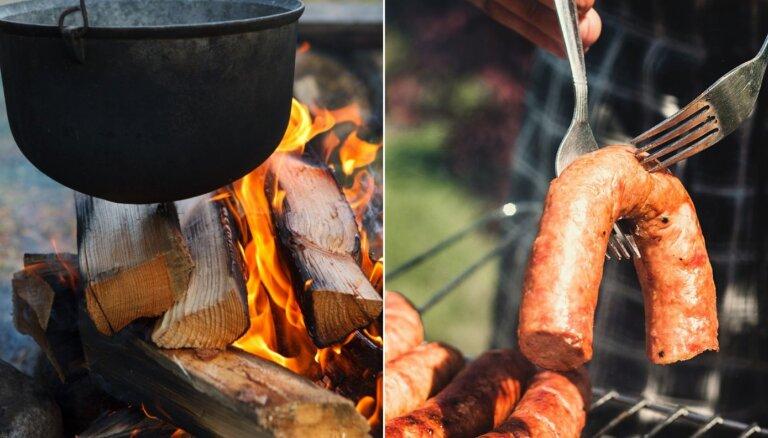 Ēdienreize brīvā dabā – ducis recepšu, ko var gatavot uz ugunskura<o:p></o:p>