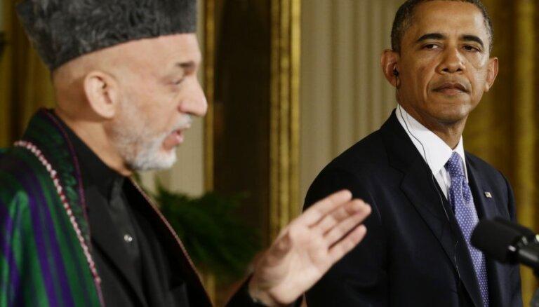 Президент Афганистана отказался встречаться с Обамой