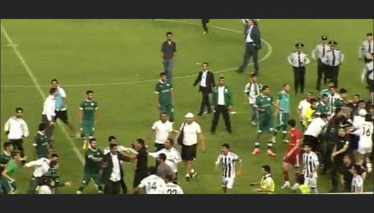 Финал Кубка Азербайджана увенчала грандиозная драка