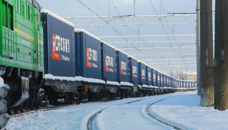 Из Китая в Латвию прибудет второй тестовый контейнерный поезд