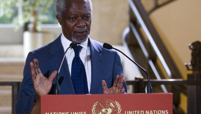 """Аннан предложил создать в Сирии """"правительство национального единства"""""""