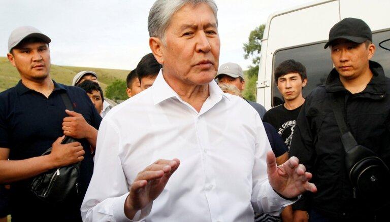 Atambajevs plānojis apvērsumu, paziņo Kirgizstānas drošības dienests