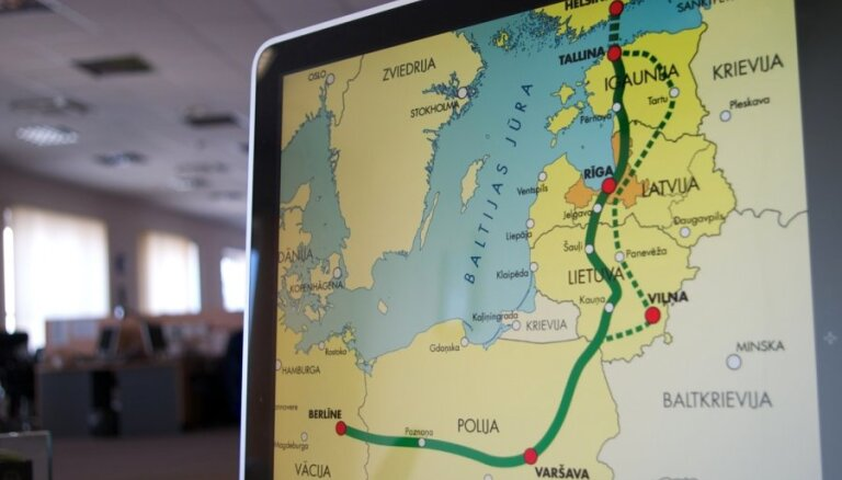 Только Литва не поддерживает создание компании для Rail Baltica