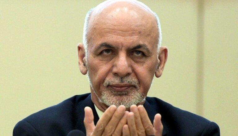 Valdībai jāpiedalās visās miera sarunās ar talibiem, uzsver Afganistānas prezidents