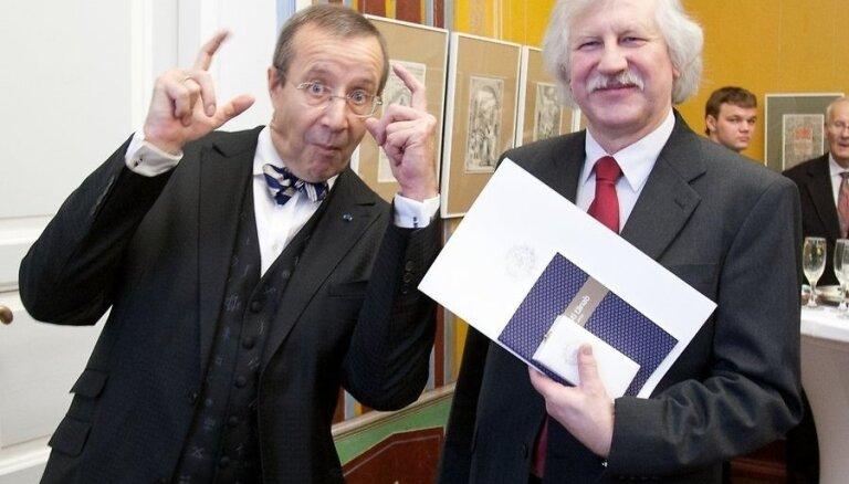Долги президента Эстонии зашкаливают за 250 тысяч евро