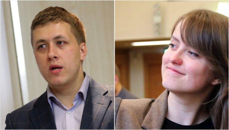 Partijas 'Progresīvie' Rīgas nodaļu vadīs Panteļējeva un Kodis