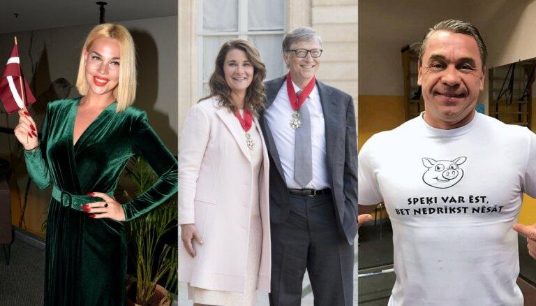 Nedēļas Top10: Geitss šķiras, korifeji par Samantu, Ščerbatihs atvainojas tuklītēm