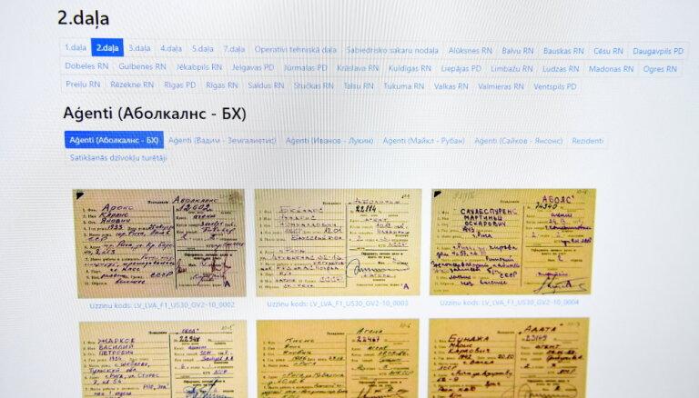 Latvijas Radio: Atklājies, ka nav publiskotas visas VDK aģentu kartītes