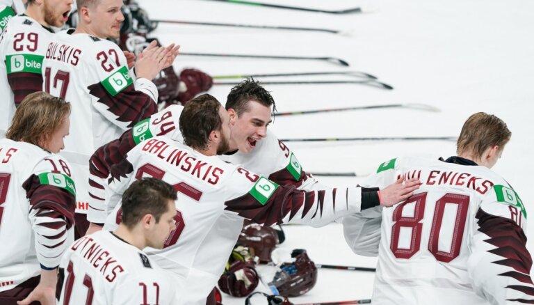 Bez skatītājiem, bet ar medaļām? Eksperti izvērtē pasaules hokeja čempionāta pirmo nedēļu