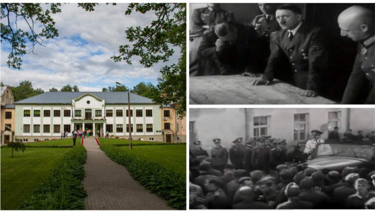 Malnavas muiža – vieta Latvijā, kur pirms 75 gadiem viesojās Ādolfs Hitlers