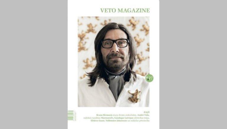 Iznācis mūzikas, modes un mākslas žurnāla 'Veto Magazine' 27. numurs, tēma - zaļš