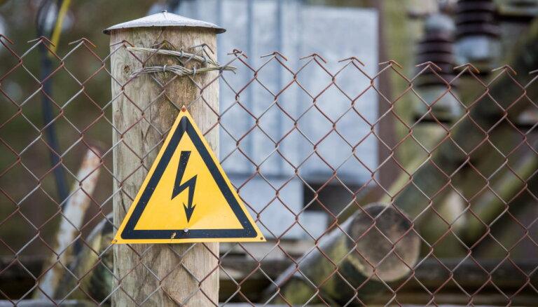 Elektroenerģijas traucējumu Sēlijā izraisījis negadījums Lietuvā