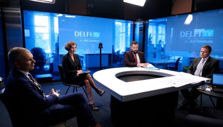 'Delfi TV ar Jāni Domburu' diskusija: Stratēģija Covid-19 krīzes ekonomisko seku mazināšanai