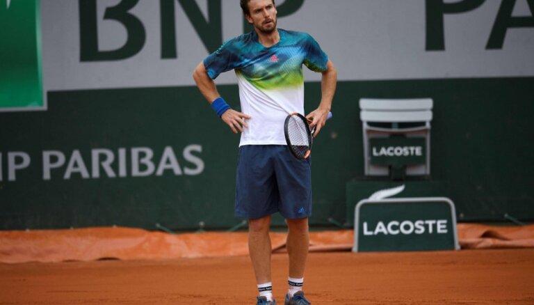Gulbis atsāk lejupslīdi ATP rangā; Lībietis sasniedz rekordu dubultspēlēs