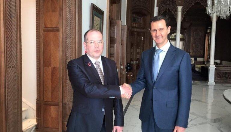 Мамыкин встретился в Дамаске с сирийским лидером Асадом