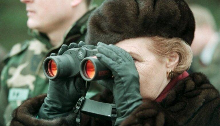 Вике-Фрейберга: Генерал в Вашингтоне шепнул, что страны Балтии находятся под защитой