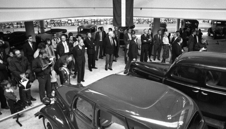 Rīgas Motormuzejs atzīmē 30 gadu jubileju