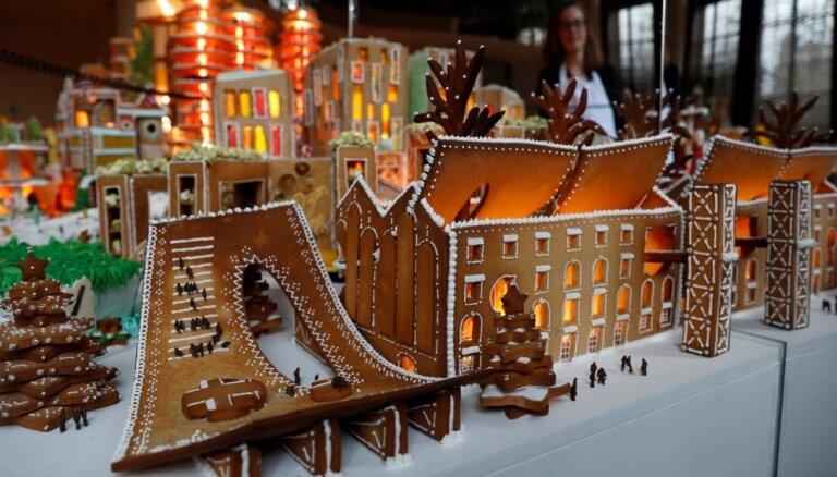 ФОТО. В Лондоне построили огромный пряничный город