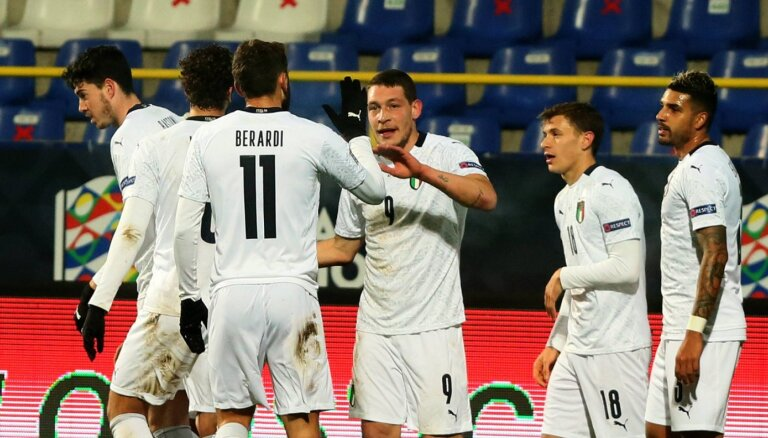 Itālijas izlase sasniedz garāko bezzaudējumu sēriju futbola vēsturē