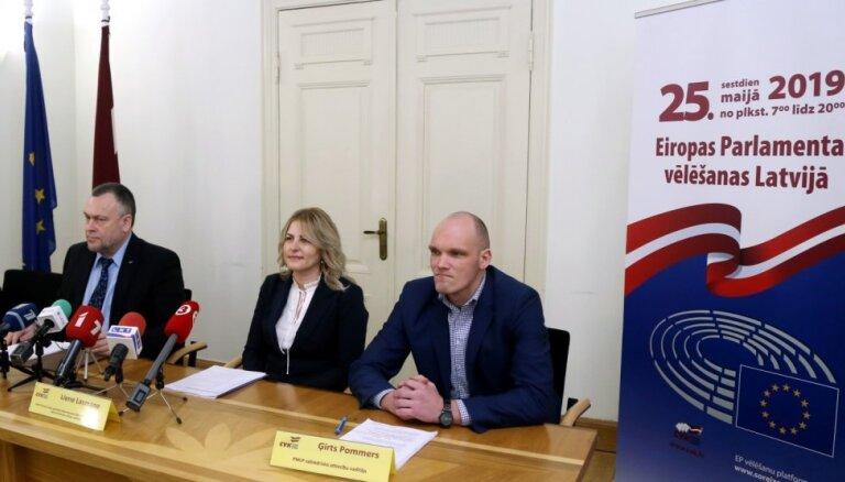 Eiropas Parlamenta vēlēšanām iesniegts piektais kandidātu saraksts; kandidē arī Bundestāga deputāts