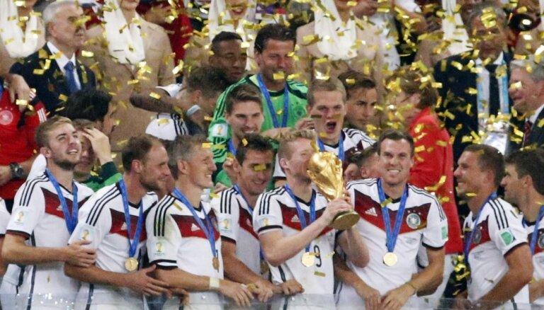 2014.gada Pasaules kausa simboliskajā izlasē dominē vācieši un brazīlieši