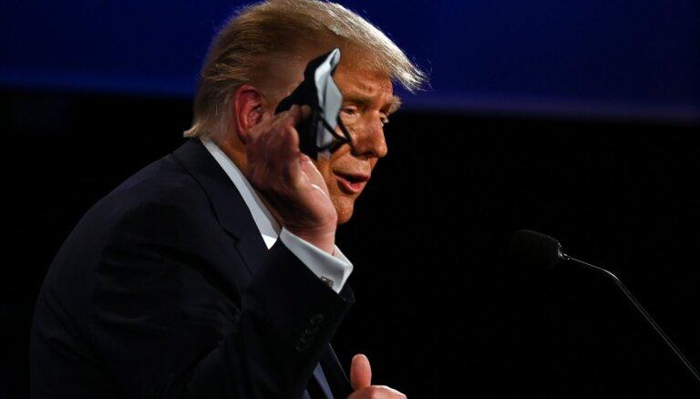 Tramps nepiedalīsies virtuālajās debatēs